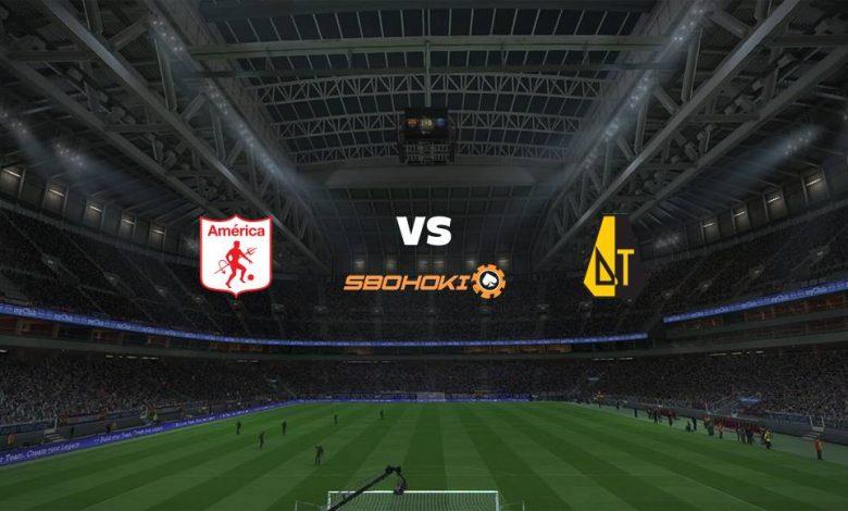 Live Streaming América de Cali vs Deportes Tolima 18 April 2021 1