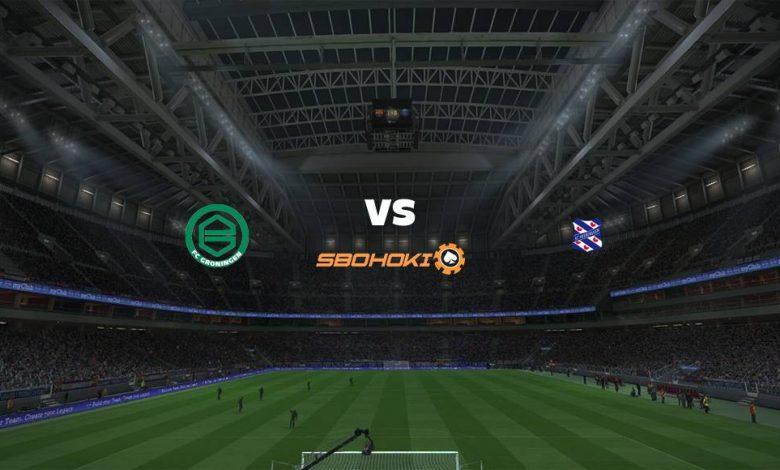 Live Streaming FC Groningen vs Heerenveen 11 April 2021 1