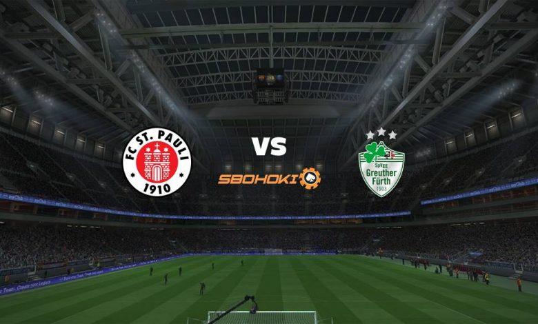 Live Streaming St Pauli vs SpVgg Greuther Furth 25 April 2021 1