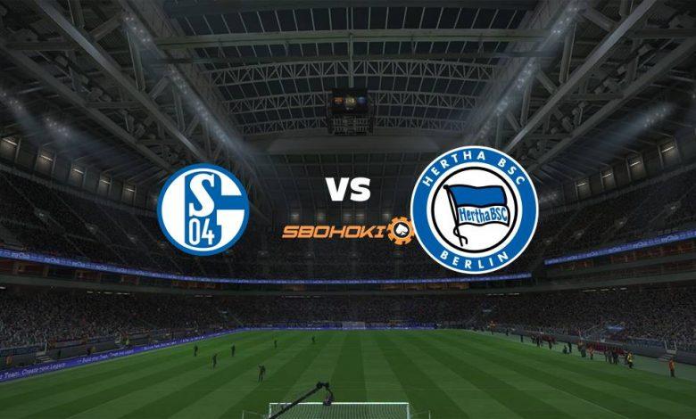 Live Streaming Schalke 04 vs Hertha Berlin 24 April 2021 1