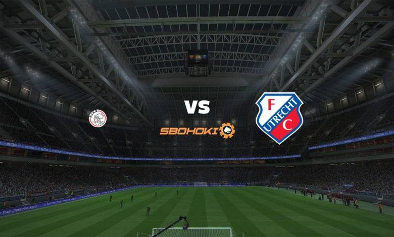 Live Streaming Ajax Amsterdam vs FC Utrecht 22 April 2021 1
