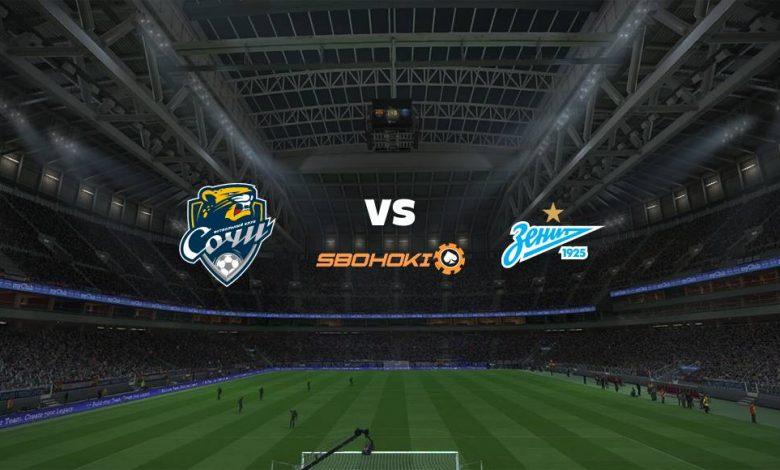 Live Streaming Sochi vs Zenit St Petersburg 11 April 2021 1