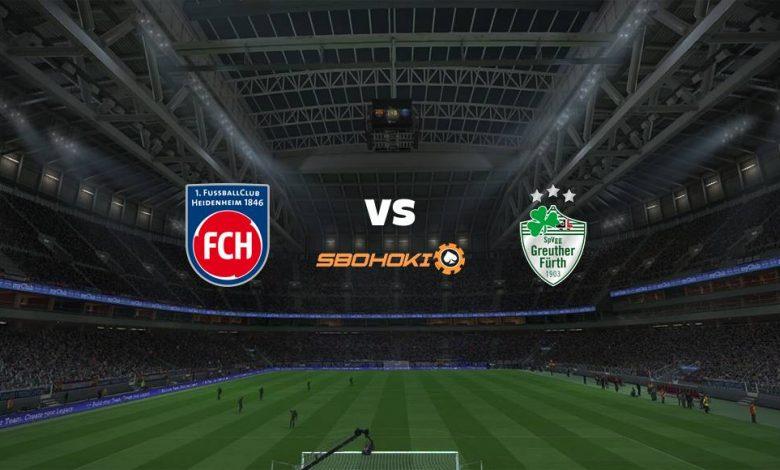 Live Streaming 1. FC Heidenheim vs SpVgg Greuther Furth 3 April 2021 1