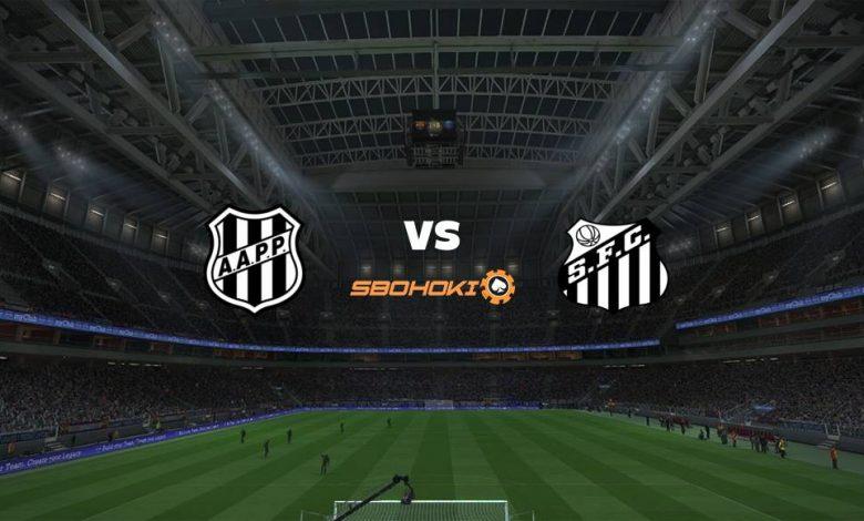 Live Streaming Ponte Preta vs Santos 16 April 2021 1