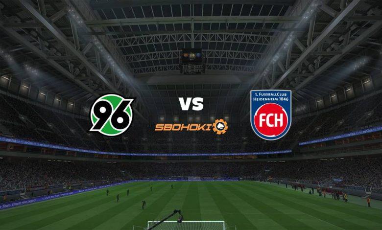 Live Streaming Hannover 96 vs 1. FC Heidenheim 11 April 2021 1