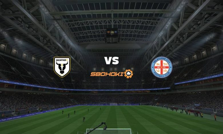 Live Streaming Macarthur FC vs Melbourne City FC 24 April 2021 1