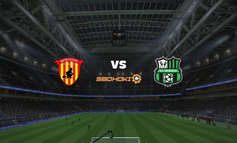 Live Streaming Benevento vs Sassuolo 12 April 2021 1
