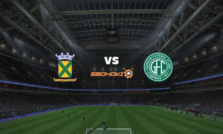 Live Streaming Santo André vs Guarani 27 April 2021 1