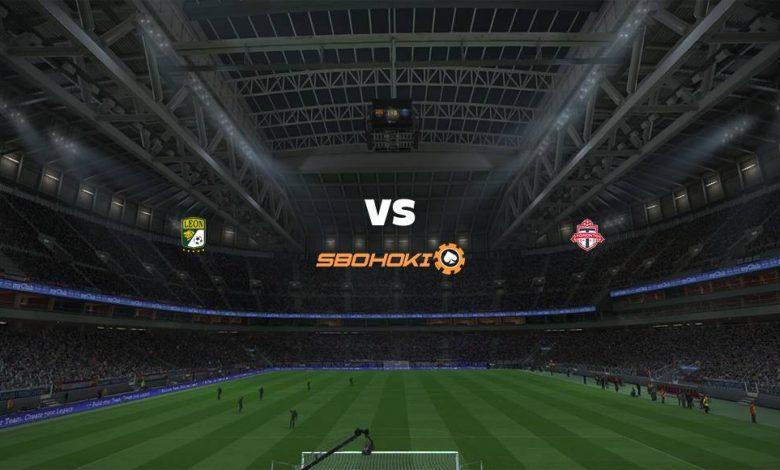 Live Streaming León vs Toronto FC 8 April 2021 1