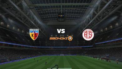Photo of Live Streaming  Kayserispor vs Antalyaspor 11 April 2021