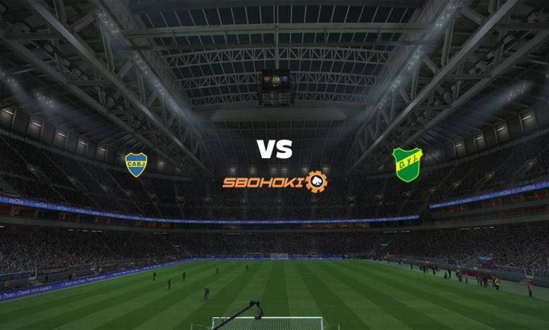 Live Streaming Boca Juniors vs Defensa y Justicia 3 April 2021 1