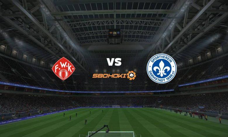 Live Streaming Würzburger Kickers vs SV Darmstadt 98 20 April 2021 1
