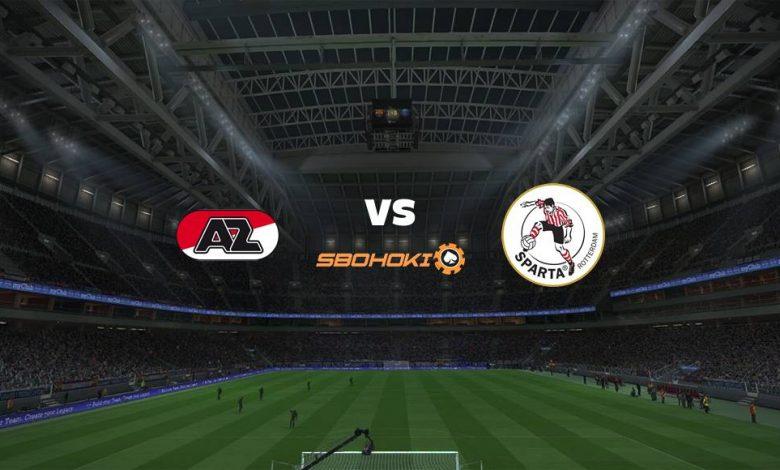 Live Streaming AZ Alkmaar vs Sparta Rotterdam 10 April 2021 1