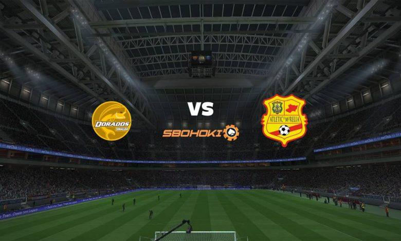 Live Streaming Dorados de Sinaloa vs Atlético Morelia 8 April 2021 1