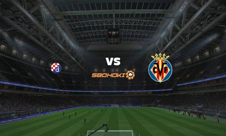 Live Streaming Dinamo Zagreb vs Villarreal 8 April 2021 1
