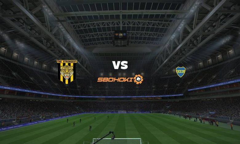 Live Streaming The Strongest vs Boca Juniors 21 April 2021 1