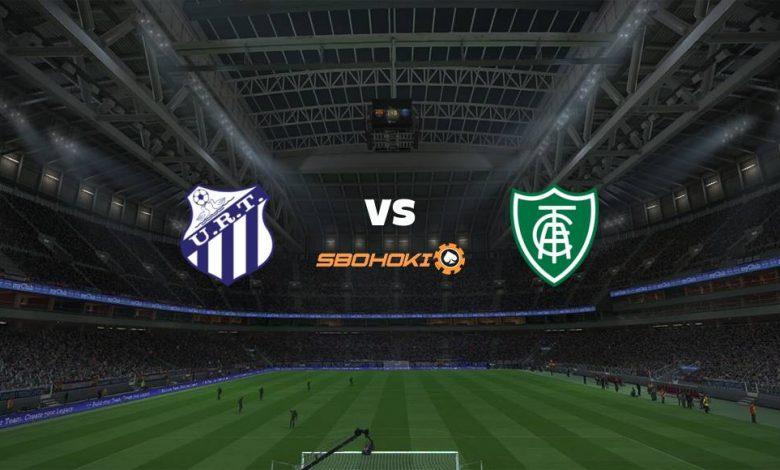Live Streaming URT vs América-MG 18 April 2021 1