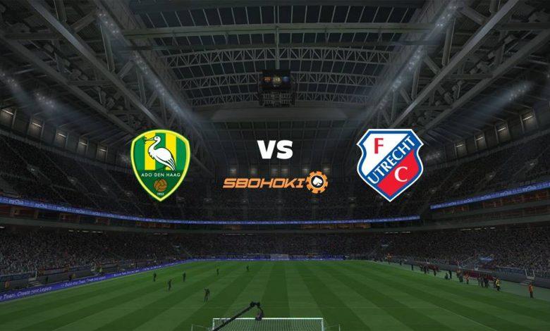 Live Streaming ADO Den Haag vs FC Utrecht 4 April 2021 1