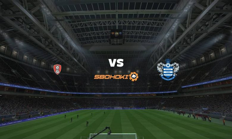 Live Streaming Rotherham United vs Queens Park Rangers 13 April 2021 1