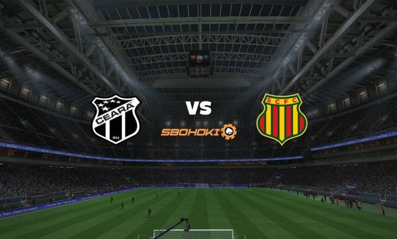 Live Streaming Ceará vs Sampaio Corrêa 18 April 2021 1