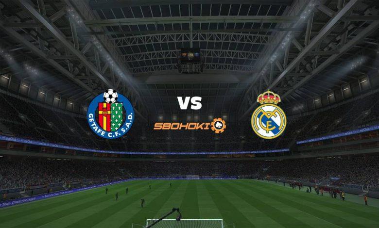 Live Streaming Getafe vs Real Madrid 18 April 2021 1