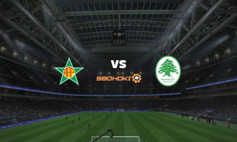 Live Streaming Portuguesa-RJ vs Boavista 24 April 2021 1
