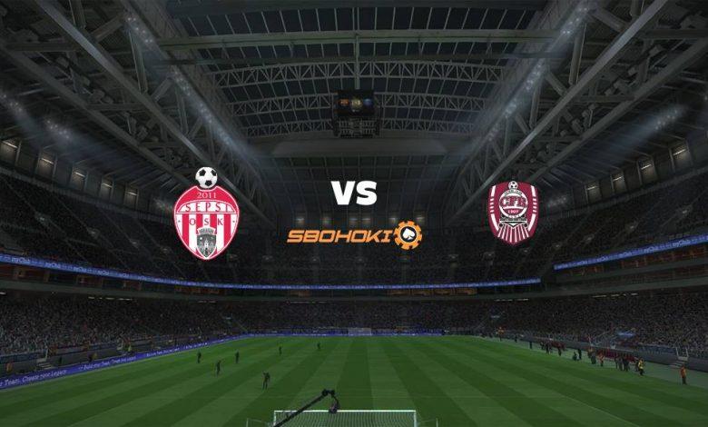 Live Streaming Sepsi Sfantu Gheorghe vs CFR Cluj-Napoca 21 April 2021 1