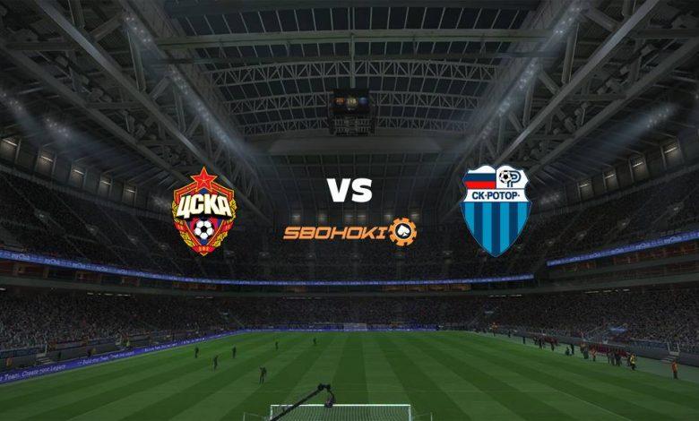 Live Streaming CSKA Moscow vs FC Rotor Volgograd 12 April 2021 1