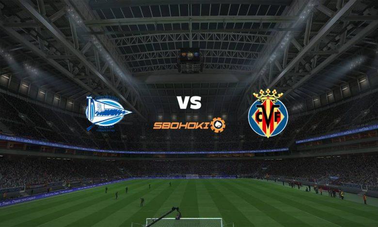 Live Streaming Alavés vs Villarreal 21 April 2021 1