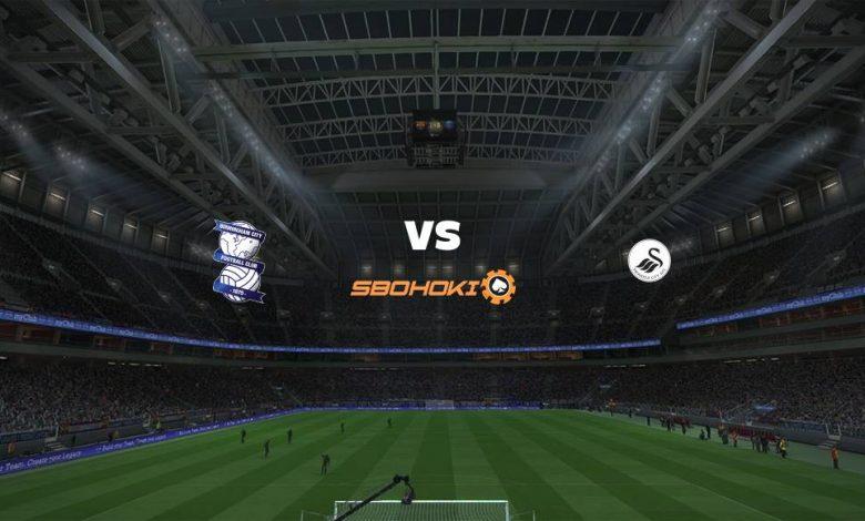Live Streaming Birmingham City vs Swansea City 2 April 2021 1