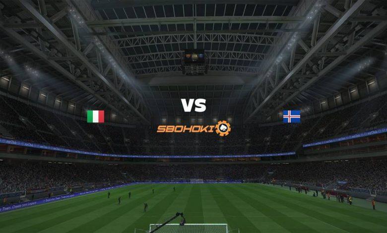 Live Streaming Italy vs Iceland 13 April 2021 1
