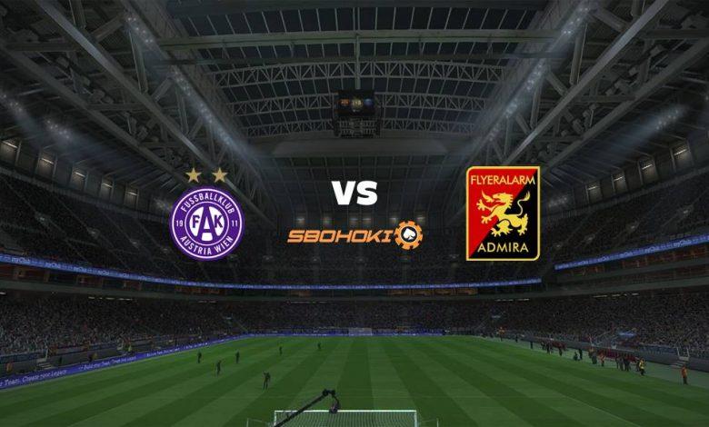 Live Streaming Austria Vienna vs FC Admira Wacker Modling 27 April 2021 1