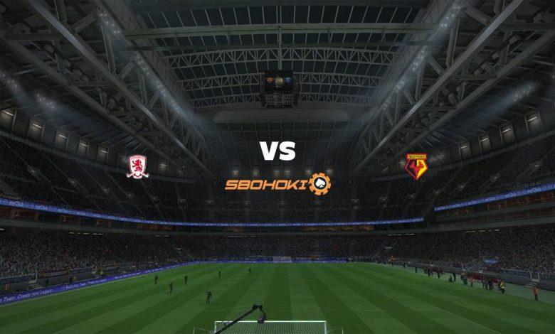 Live Streaming Middlesbrough vs Watford 5 April 2021 1