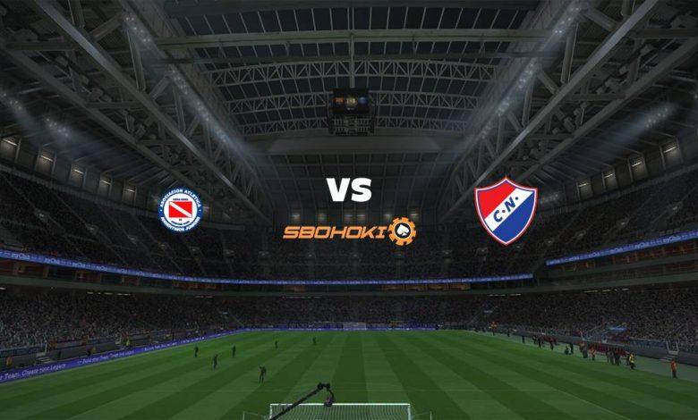 Live Streaming Argentinos Juniors vs Nacional 20 April 2021 1