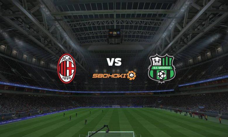 Live Streaming Milan vs Sassuolo 21 April 2021 1