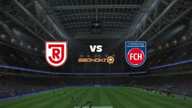 Photo of Live Streaming  SSV Jahn Regensburg vs 1. FC Heidenheim 18 April 2021