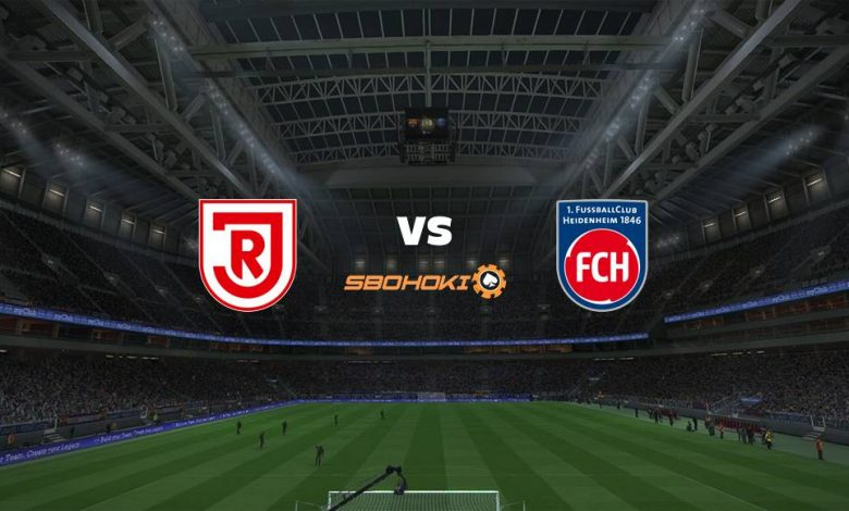 Live Streaming SSV Jahn Regensburg vs 1. FC Heidenheim 18 April 2021 1