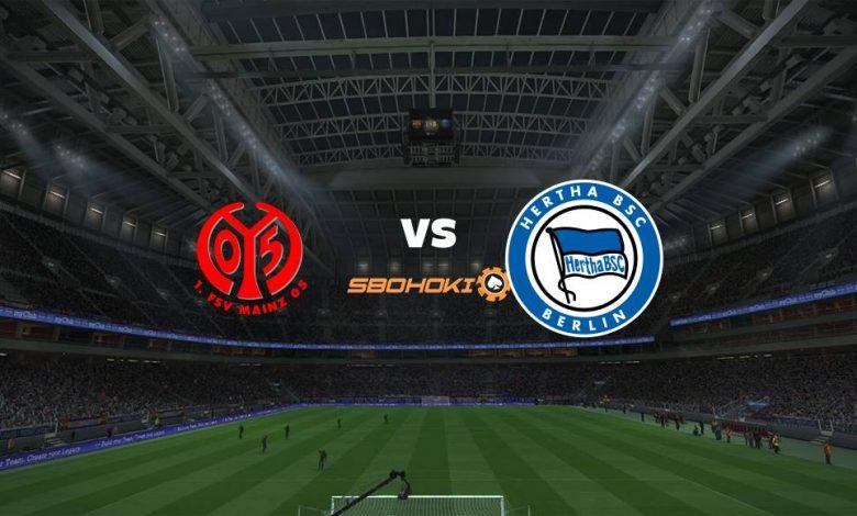 Live Streaming Mainz vs Hertha Berlin (PPD) 18 April 2021 1