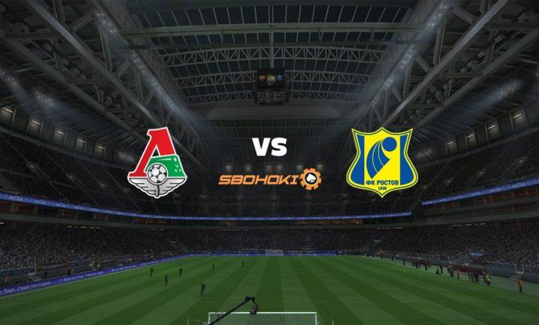 Live Streaming Lokomotiv Moscow vs Rostov 17 April 2021 1