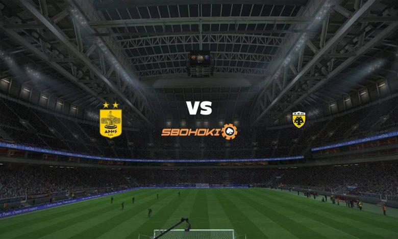 Live Streaming Aris vs AEK Athens 11 April 2021 1