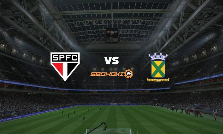 Live Streaming São Paulo vs Santo André 23 April 2021 1