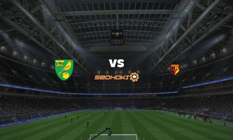 Live Streaming Norwich City vs Watford 20 April 2021 1