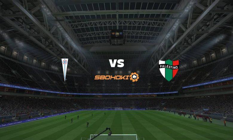 Live Streaming Universidad Católica vs Palestino 4 April 2021 1