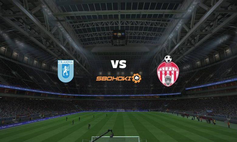 Live Streaming Universitatea Craiova vs Sepsi Sfantu Gheorghe 17 April 2021 1