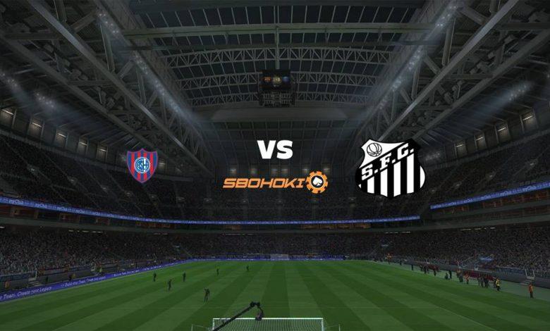 Live Streaming San Lorenzo vs Santos 7 April 2021 1