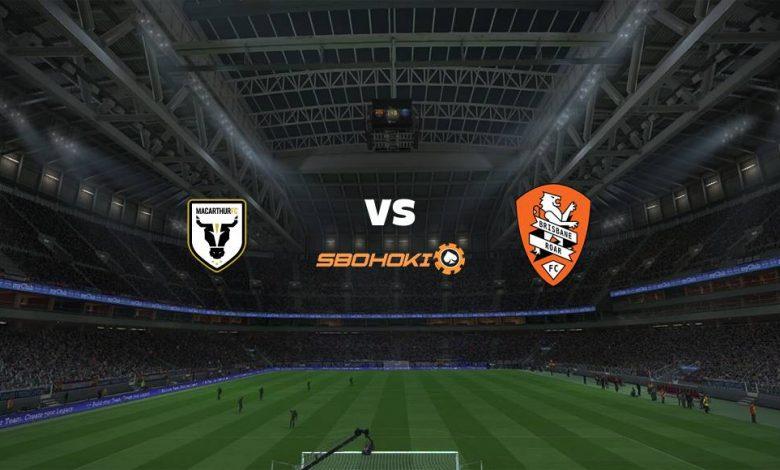 Live Streaming Macarthur FC vs Brisbane Roar 9 April 2021 1