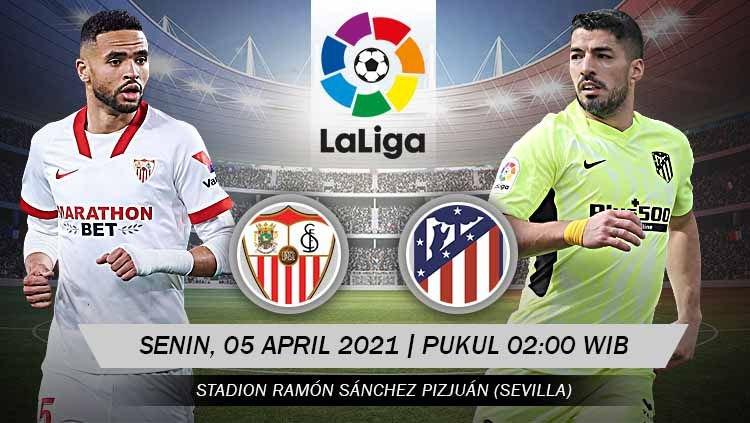 Prediksi Sevilla vs Atletico Madrid: Pertarungan Mempertahankan Tahta La Liga 1