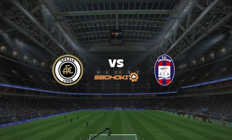 Live Streaming Spezia vs Crotone 10 April 2021 1