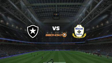 Photo of Live Streaming  Botafogo vs Macaé 25 April 2021