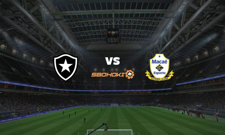 Live Streaming Botafogo vs Macaé 25 April 2021 1